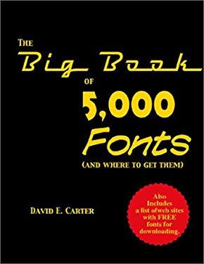 The Big Book of 5000 Fonts 9780823004898