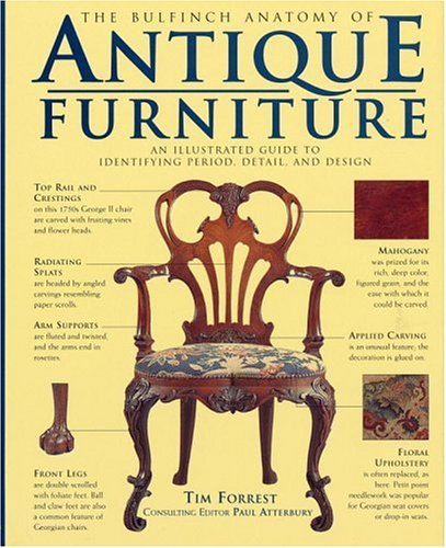 The Bulfinch Anatomy of Antique Furniture: An Illustrated Guide to Identifying Period, Detail, and Design 9780821223253