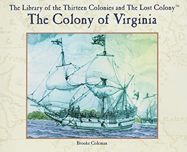 The Colony of Virginia 9780823961757