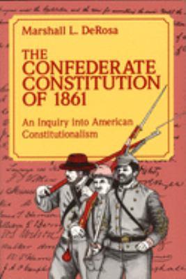 Confederate Constitution of 1861 9780826208125