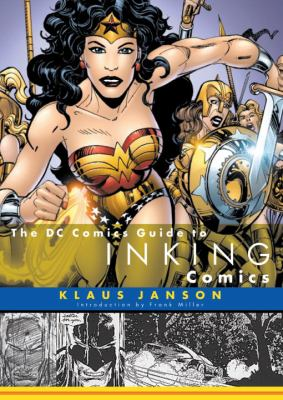 The DC Comics Guide to Inking Comics 9780823010295
