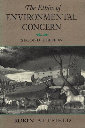 The Ethics of Environmental Concern 2nd Edition 9780820313443