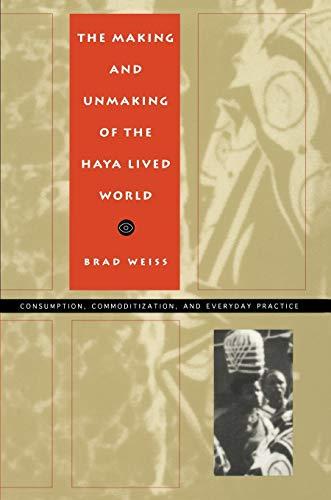The Haya Lived World-PB 9780822317227