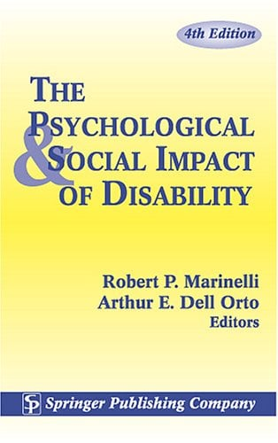 The Psychological and Social Impact of Disability 9780826122131