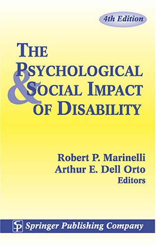 The Psychological and Social Impact of Disability
