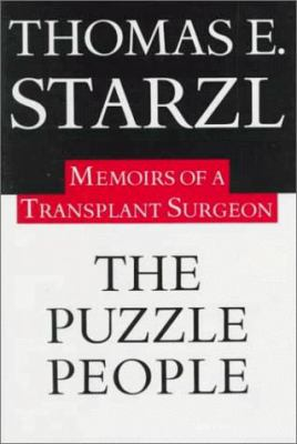 The Puzzle People: Memoirs of a Transplant Surgeon 9780822937142