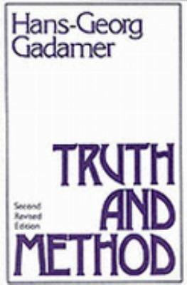 Truth and Method: Second Revised Edition 9780826405852