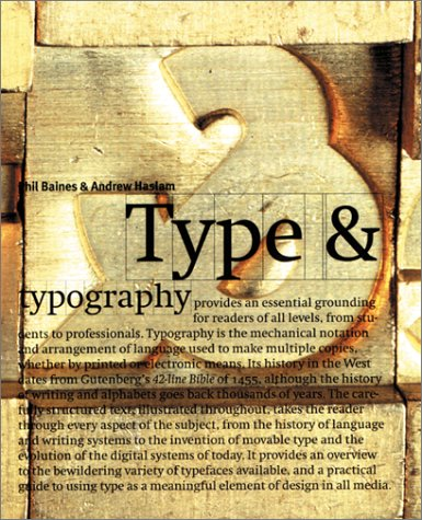 Type and Typography 9780823055241