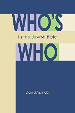 Who's Who in the Jewish Bible 9780827608634