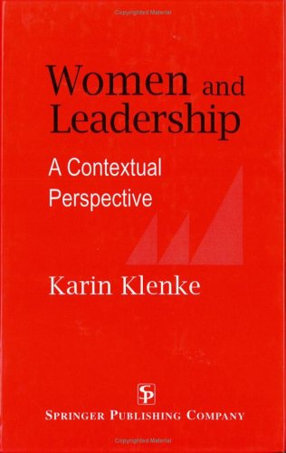 Women and Leadership: A Contextual Perspective 9780826192219