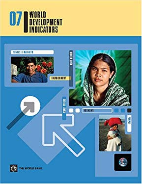 World Development Indicators 2007 Package Set [With CDROM] 9780821369630