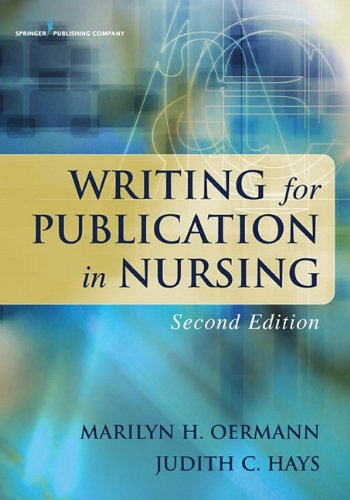Writing for Publication in Nursing 9780826118028