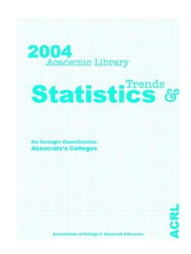 2004 Acrl Statistics Assoc. Arts 9780838983522