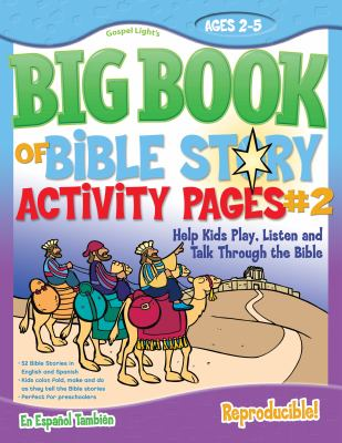The Big Book of Bible Story Activity Pages #2 [With CDROM] 9780830752263