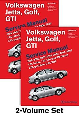 Volkswagen Jetta, Golf, GTI (A4) Service Manual: 1999, 2000, 2001, 2002, 2003, 2004, 2005: 1.8l Turbo, 1.9l Tdi Diesel, Pd Diesel, 2.0l Gasoline, 2.8l 9780837616780