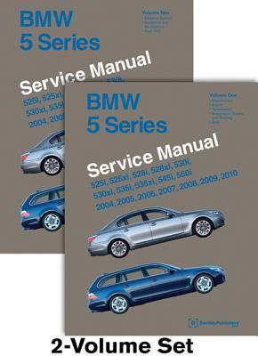 BMW 5 Series (E60, E61) Service Manual: 2004, 2005, 2006, 2007, 2008, 2009, 2010: 525i, 525xi, 528i, 528xi, 530i, 530xi, 535i, 535xi, 545i, 550i 9780837616896