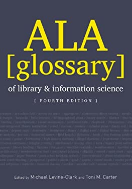 ALA Glossary of Library and Information Science 9780838911112