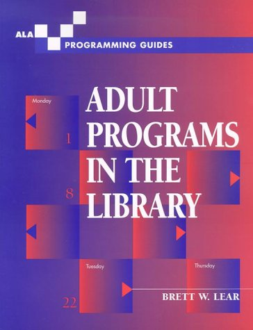 Adult Programs in the Library 9780838908105