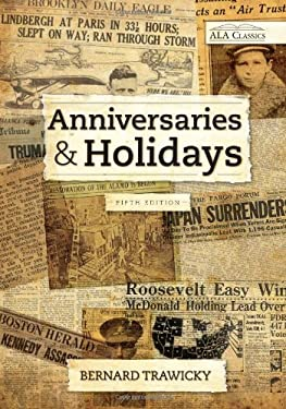 Anniversaries and Holidays 9780838906958