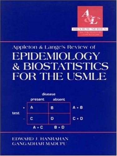 Appleton & Lange's Review of Epidemiology & Biostatistics for the USMLE 9780838502440