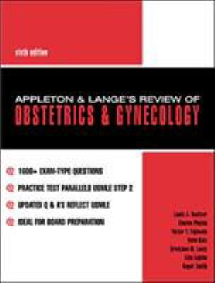 Appleton & Lange's Review of Obstetrics and Gynecology 9780838503232