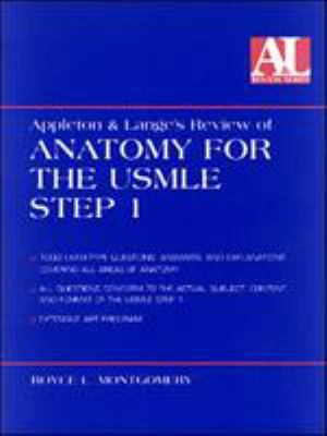 Appleton and Lange's Review of Anatomy for the USMLE Step 1 9780838502464