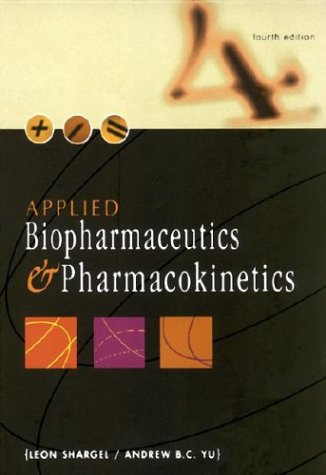 Applied Biopharmaceutics and Pharmacokinetics 9780838502785