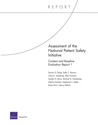 Assessment of the National Patient Safety Initiative: Context and Baseline Evaluation Report I 9780833037879