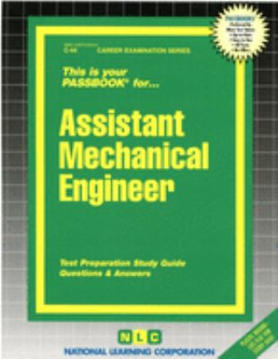 Assistant Mechanical Engineer 9780837300443