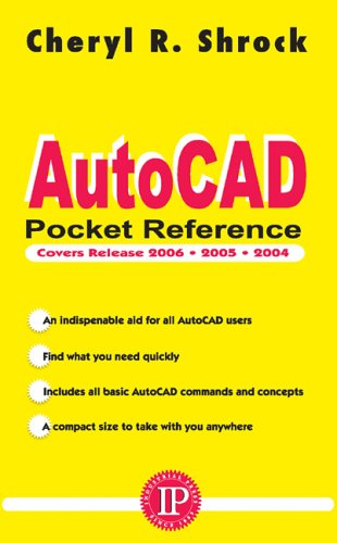 AutoCAD Pocket Reference: For Release 2006, 2005 and 2004 9780831132637