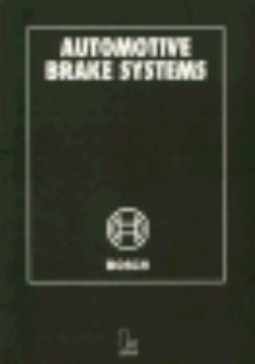 Automotive Brake Systems 9780837603315