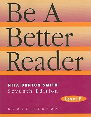 Be a Better Reader, Level F 9780835919302