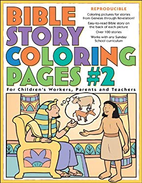 Bible Story Coloring Pages #2 9780830730957