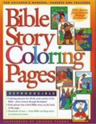 Bible Story Coloring Pages 1 9780830718696