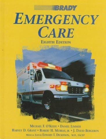 Brady Emergency Care 9780835950732