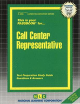 Call Center Representative 9780837340951