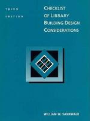 Checklist of Building Design Considerations 9780838934661