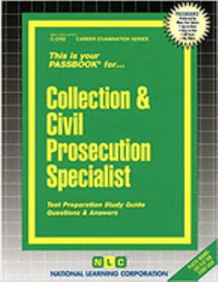 Collection & Civil Prosecution Specialist 9780837337029