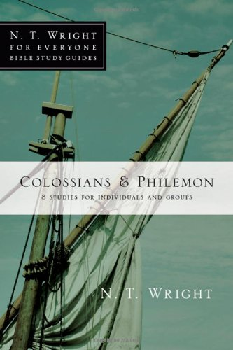 Colossians & Philemon: 8 Studies for Individuals and Groups 9780830821921