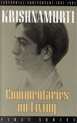 Commentaries on Living: First Series 9780835603904
