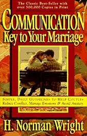 Communication: Key to Your Marriage 3619010