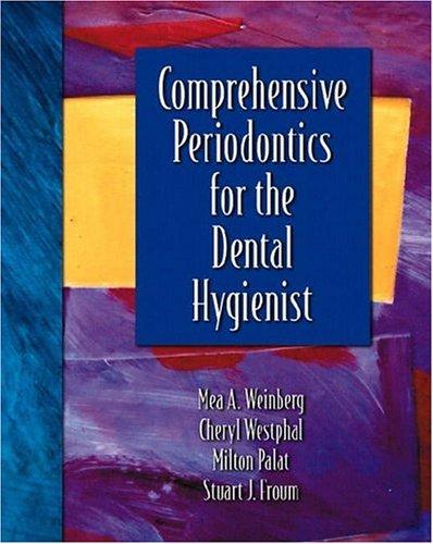 Comprehensive Periodontics for the Dental Hygienist 9780838515549