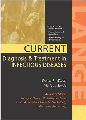 Current Diagnosis & Treatment in Infectious Disease 9780838514948
