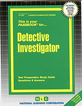Detective Investigator 9780837312477