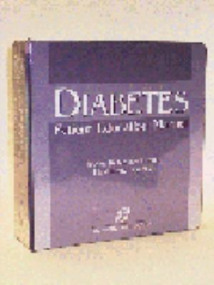 Diabetes Patient Education Manual [With Disk] 9780834212756