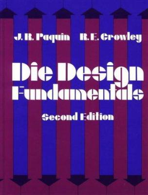Die Design Fundamentals 9780831111724