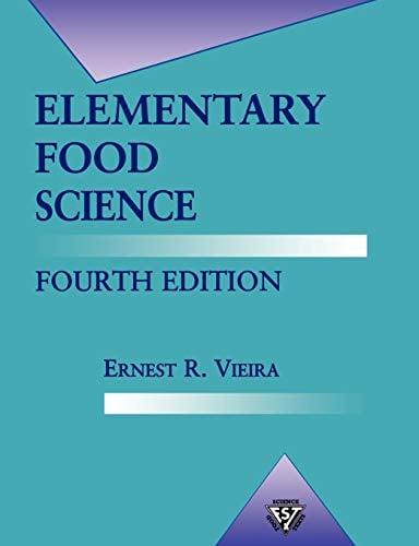 Elementary Food Science 9780834216570