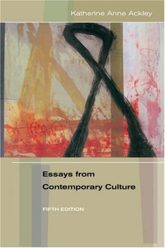Essays from Contemporary Culture 9780838406779