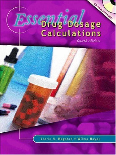 Essential Drug Dosage Calculations 9780838522851
