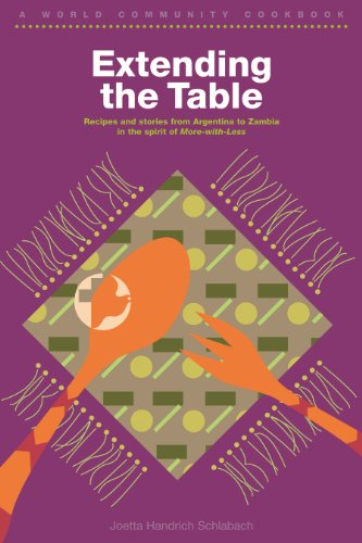 Extending the Table: A World Community Cookbook 9780836135619